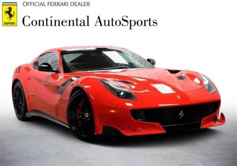 2016 Ferrari F12tdf for sale at CONTINENTAL AUTO SPORTS in Hinsdale IL