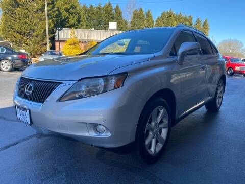 2011 Lexus RX 350 for sale at Viewmont Auto Sales in Hickory NC