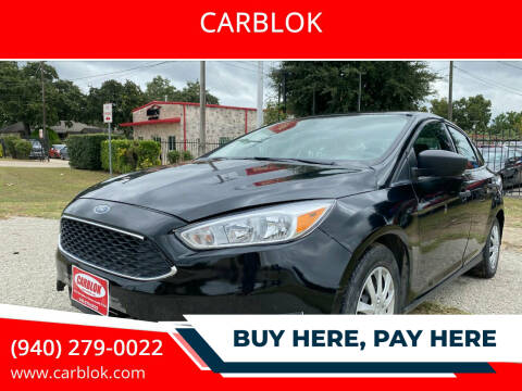 2018 Ford Focus for sale at CARBLOK in Lewisville TX