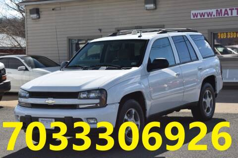 2005 Chevrolet TrailBlazer for sale at MANASSAS AUTO TRUCK in Manassas VA