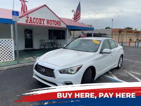 2018 Infiniti Q50 for sale at Jacoby Motors in Fort Myers FL