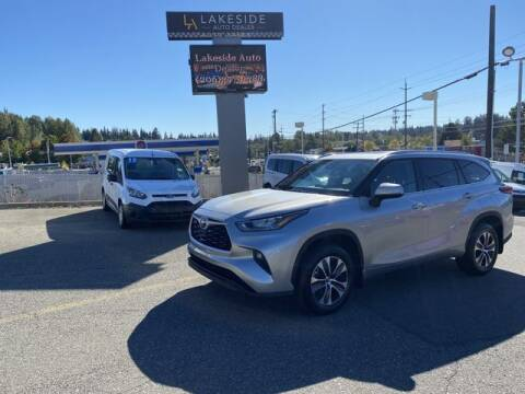 2020 Toyota Highlander for sale at Lakeside Auto in Lynnwood WA