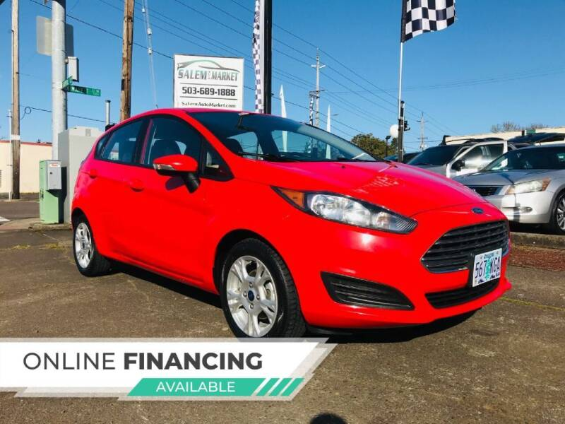 2015 Ford Fiesta for sale at Salem Auto Market in Salem OR