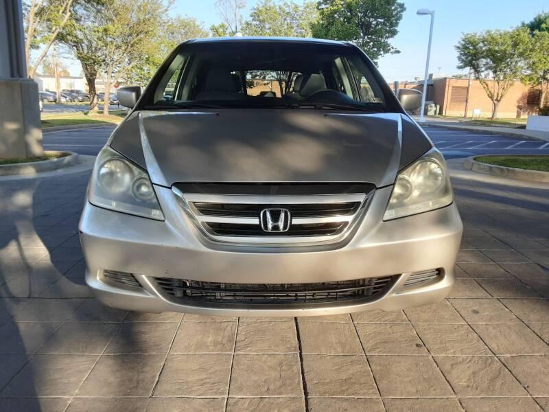 2007 Honda Odyssey for sale at Fredericksburg Auto Finance Inc. in Fredericksburg VA