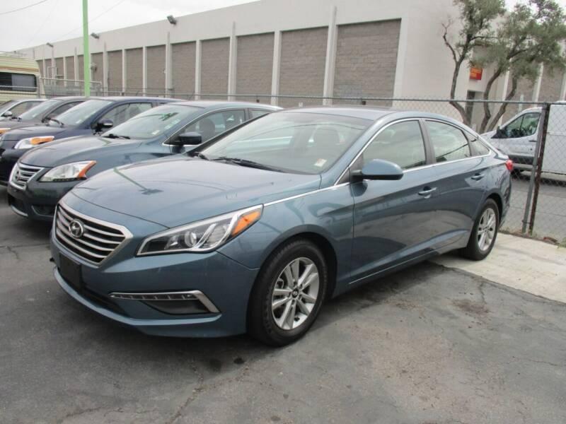 2015 Hyundai Sonata for sale at ALOHA USED CARS in Las Vegas NV