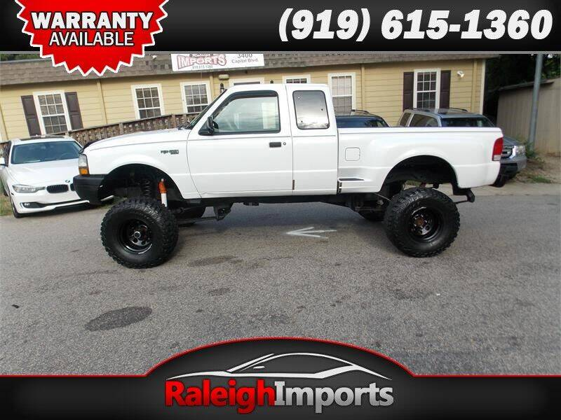 2000 Ford Ranger for sale at Raleigh Imports in Raleigh NC