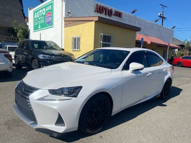2018 Lexus IS 300 for sale at Auto Ave in Los Angeles CA