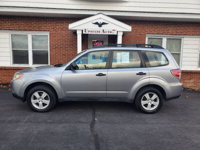 2010 Subaru Forester for sale at UPSTATE AUTO INC in Germantown NY