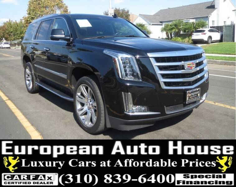 2019 Cadillac Escalade for sale at European Auto House in Los Angeles CA