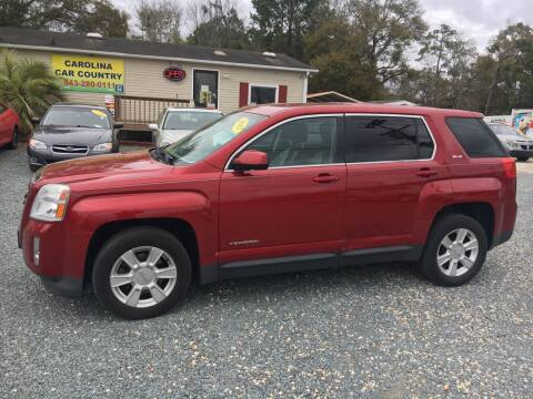 2013 GMC Terrain for sale at Carolina Car Country in Little River SC