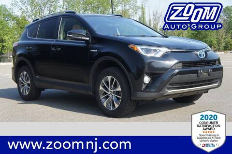 2016 Toyota RAV4 Hybrid for sale at Zoom Auto Group in Parsippany NJ