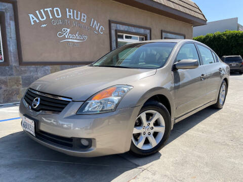 2008 Nissan Altima for sale at Auto Hub, Inc. in Anaheim CA