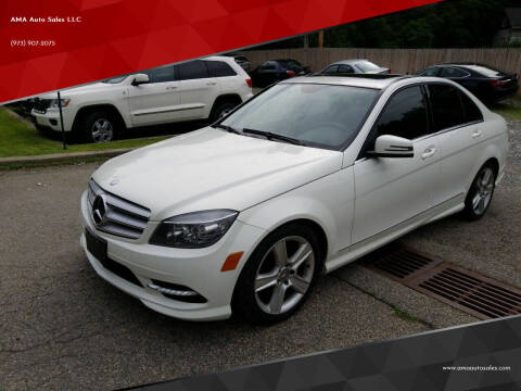 2011 Mercedes-Benz C-Class for sale at AMA Auto Sales LLC in Ringwood NJ