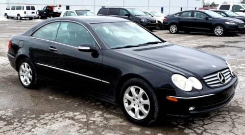 2003 Mercedes-Benz CLK for sale at Angelo's Auto Sales in Lowellville OH
