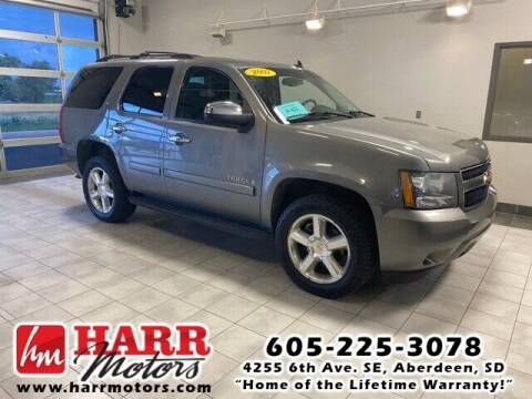 2007 Chevrolet Tahoe for sale at Harr Motors Bargain Center in Aberdeen SD
