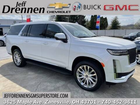 2021 Cadillac Escalade ESV for sale at Jeff Drennen GM Superstore in Zanesville OH