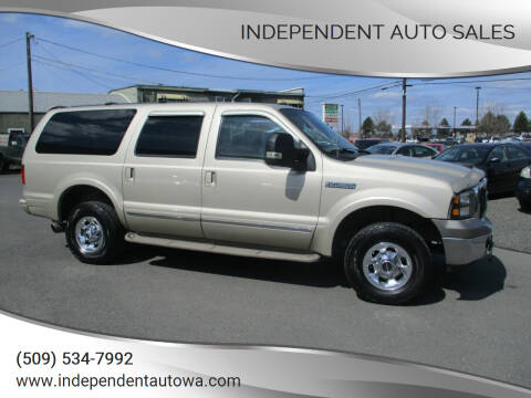 2004 Ford Excursion for sale at Independent Auto Sales #2 in Spokane WA