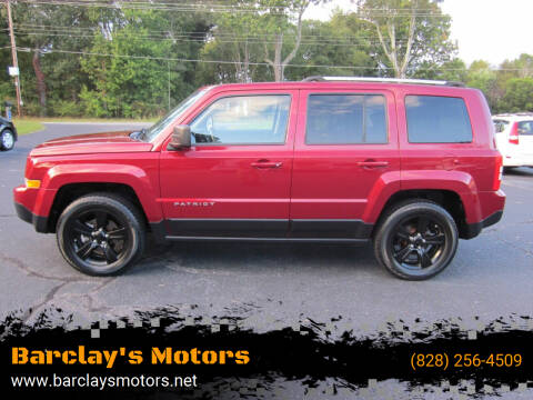 2012 Jeep Patriot for sale at Barclay's Motors in Conover NC