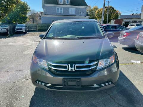 2014 Honda Odyssey for sale at Better Auto in South Darthmouth MA