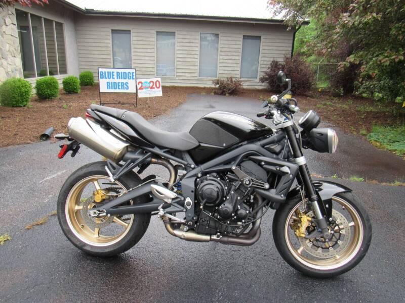 2012 Triumph 675 Street Triple R  for sale at Blue Ridge Riders in Granite Falls NC