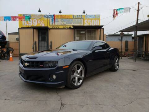 2013 Chevrolet Camaro for sale at DEL CORONADO MOTORS in Phoenix AZ