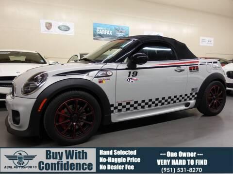 2013 MINI Roadster for sale at ASAL AUTOSPORTS in Corona CA