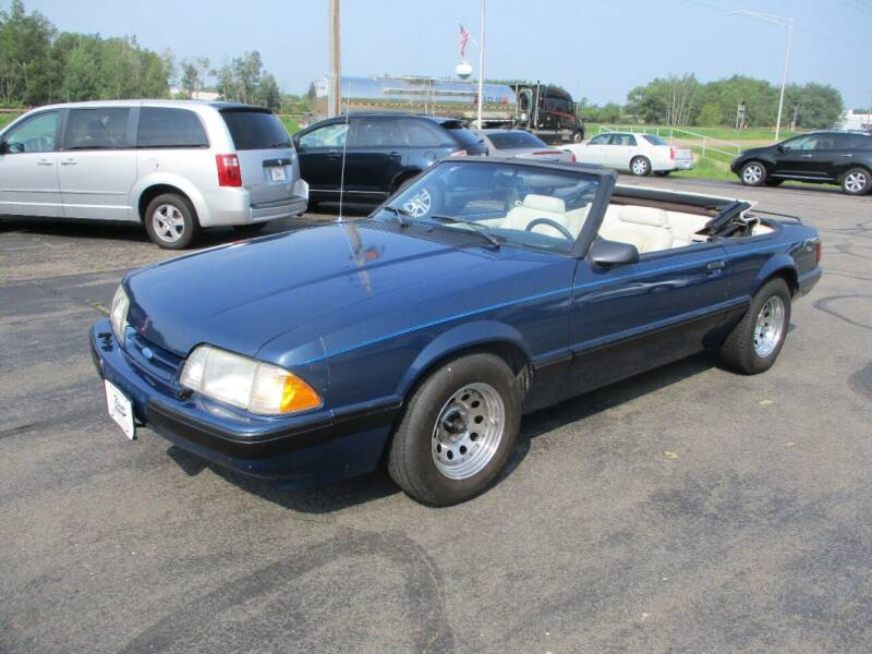1987 Ford Mustang for sale at KAISER AUTO SALES in Spencer WI