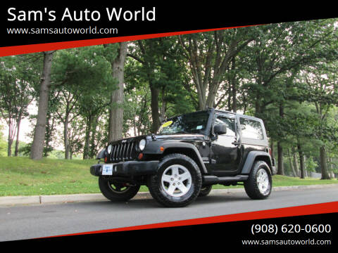 2010 Jeep Wrangler for sale at Sam's Auto World in Roselle NJ