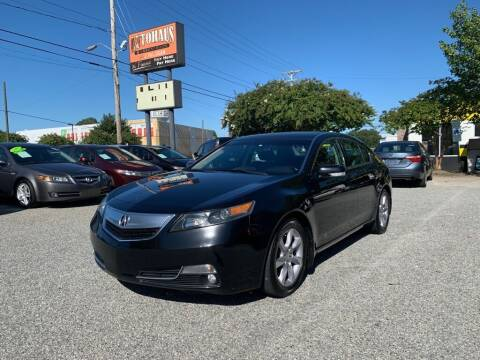 2012 Acura TL for sale at Autohaus of Greensboro in Greensboro NC