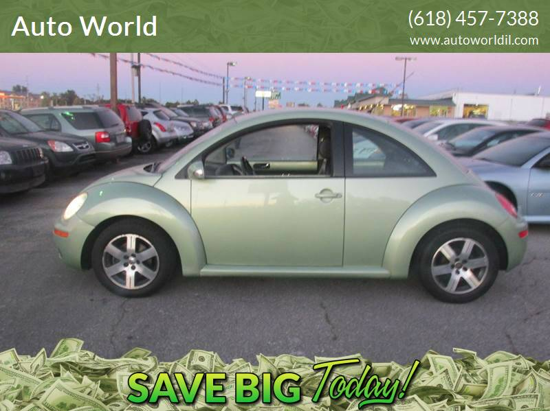 2006 Volkswagen New Beetle for sale at Auto World in Carbondale IL