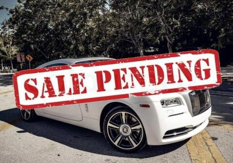 2014 Rolls-Royce Wraith for sale at STS Automotive - Miami, FL in Miami FL