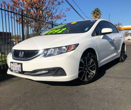 2014 Honda Civic for sale at LUGO AUTO GROUP in Sacramento CA
