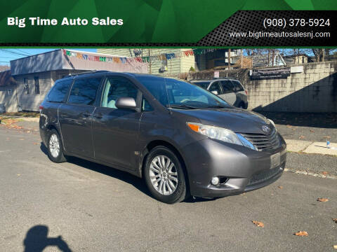 2011 Toyota Sienna for sale at Big Time Auto Sales in Vauxhall NJ
