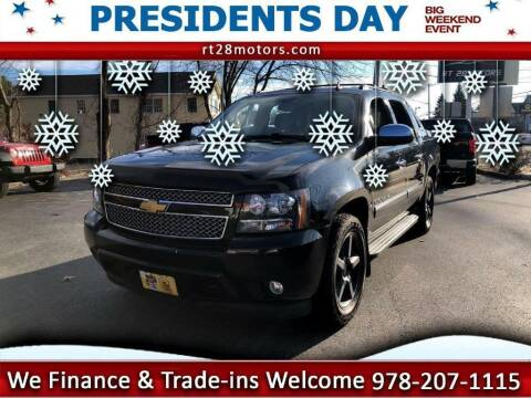 2013 Chevrolet Avalanche for sale at RT28 Motors in North Reading MA