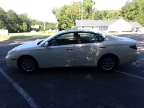 2003 Lexus ES 300 for sale at West End Auto Sales LLC in Richmond VA