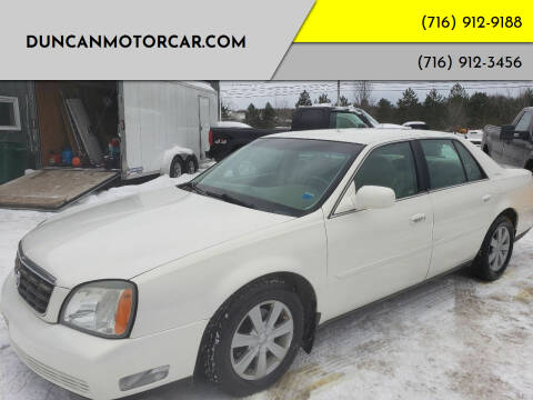 2004 Cadillac DeVille for sale at DuncanMotorcar.com in Buffalo NY