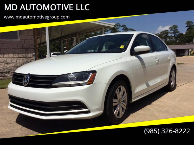 2017 Volkswagen Jetta for sale at MD AUTOMOTIVE LLC in Slidell LA