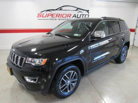 2017 Jeep Grand Cherokee for sale at Superior Auto Sales in New Windsor NY