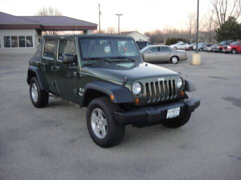 2009 Jeep Wrangler Unlimited for sale at Turn Key Auto in Oshkosh WI