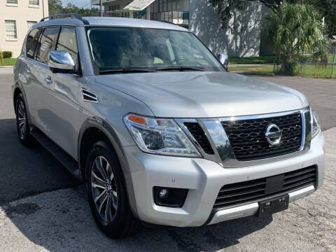2018 Nissan Armada for sale at Consumer Auto Credit in Tampa FL