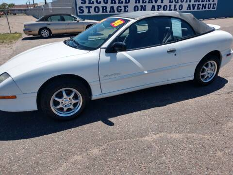 1998 Pontiac Sunfire for sale at Kull N Claude Auto Sales in Saint Cloud MN