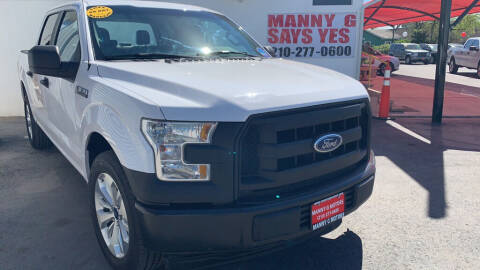 2017 Ford F-150 for sale at Manny G Motors in San Antonio TX