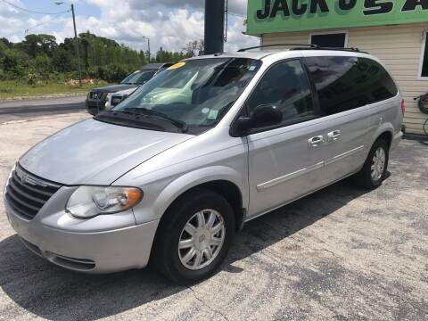 2006 Chrysler Town and Country for sale at Jack's Auto Sales in Port Richey FL