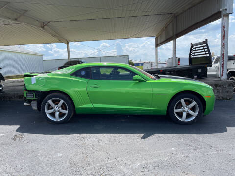 2010 Chevrolet Camaro for sale at B & W Auto in Campbellsville KY