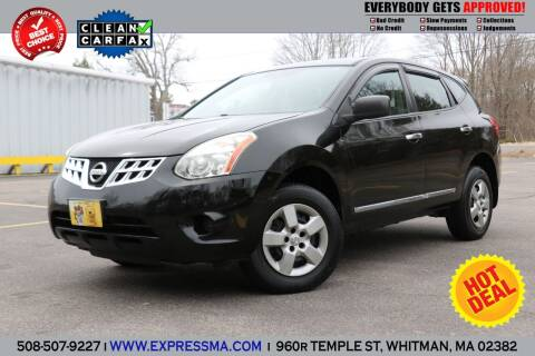 2013 Nissan Rogue for sale at Auto Sales Express in Whitman MA