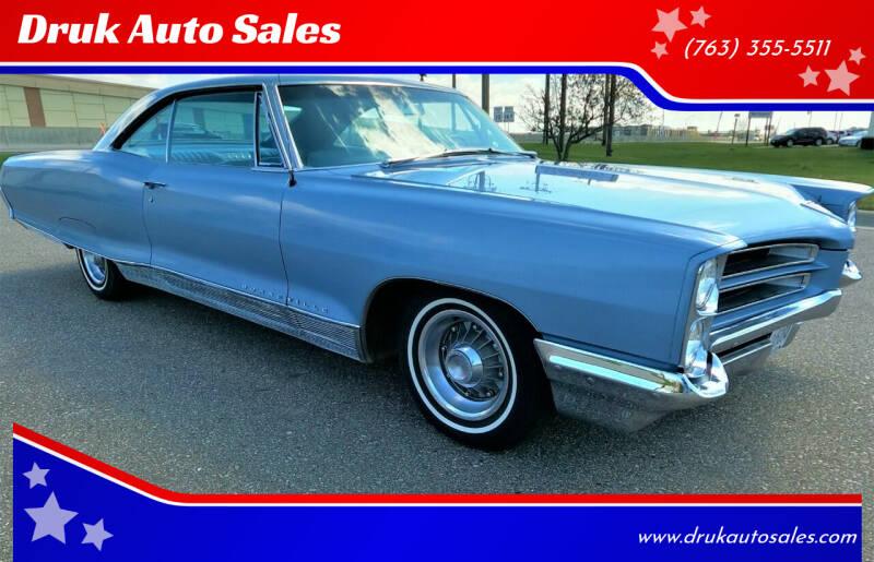 1966 Pontiac Bonneville for sale at Druk Auto Sales in Ramsey MN
