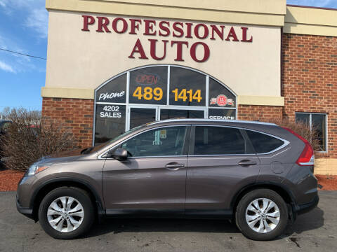 2014 Honda CR-V for sale at Professional Auto Sales & Service in Fort Wayne IN