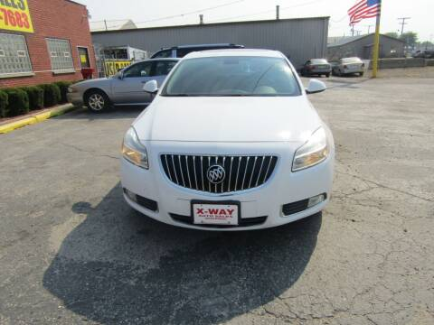 2011 Buick Regal for sale at X Way Auto Sales Inc in Gary IN