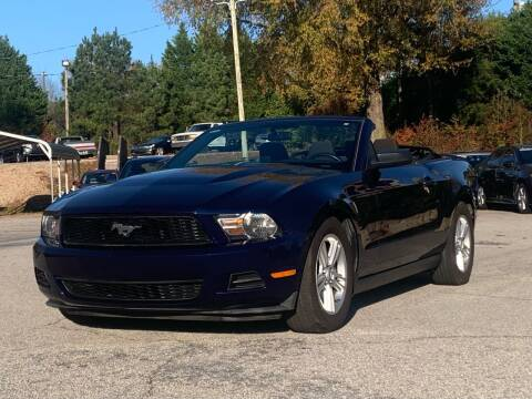 2011 Ford Mustang for sale at GR Motor Company in Garner NC