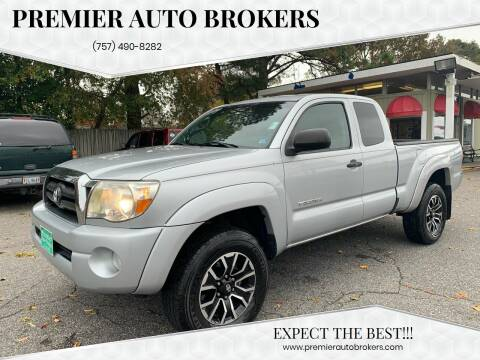 2007 Toyota Tacoma for sale at Premier Auto Brokers in Virginia Beach VA